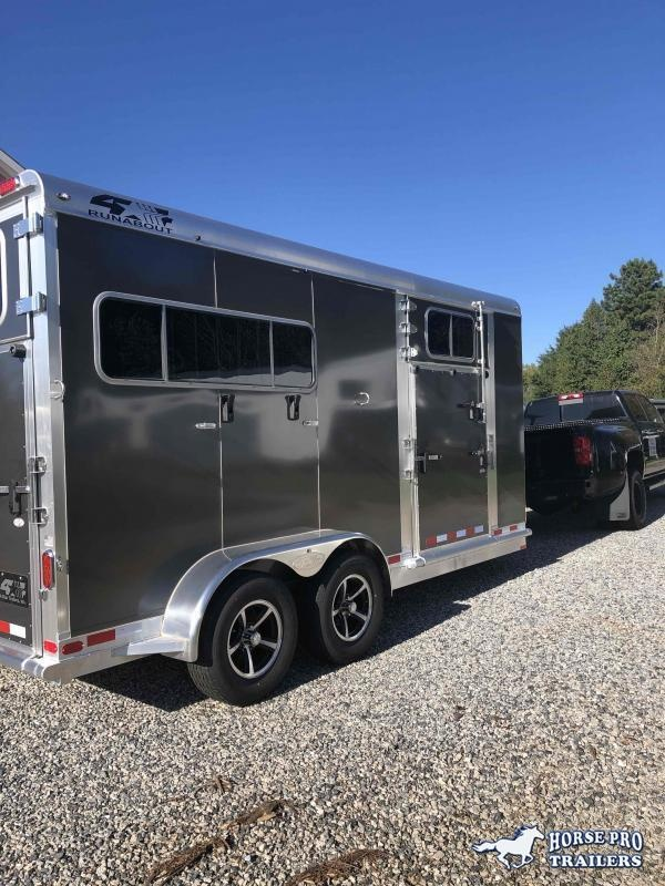2022 4-Star 2 Horse Straight Load Bumper Pull w/SIDE RAMP & QUIET RIDE