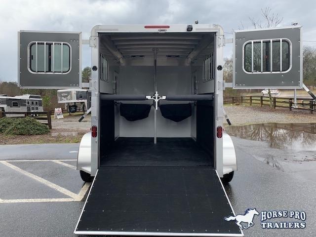 2021 Adam Ju-Lite 2 Horse Straight Load Bumper Pull
