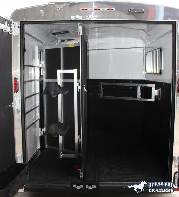 2020 Homesteader 2 Horse Slant  Bumper Pull with Escape Door