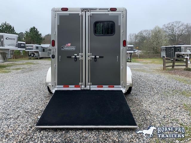 2021 Cimarron 2 Horse Slant Load Bumper Pull