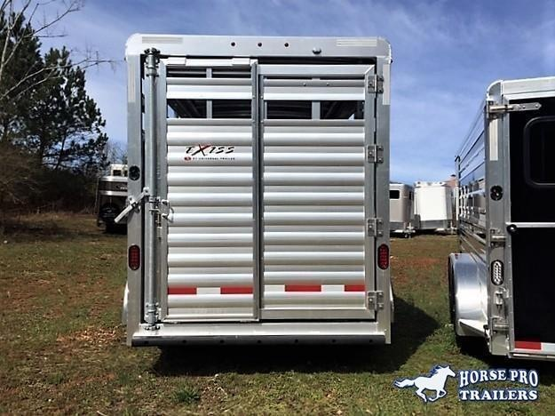 2022 Exiss 16' Stock Bumper Pull w/Center Gate- 7'2 TALL!