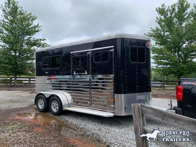 2019 Sundowner Charter TR SE 2 Horse Straight Load Bumper Pull