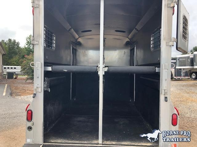 2001 4-Star Trailers 2H Warmblood Straightload Gooseneck Horse Trailer