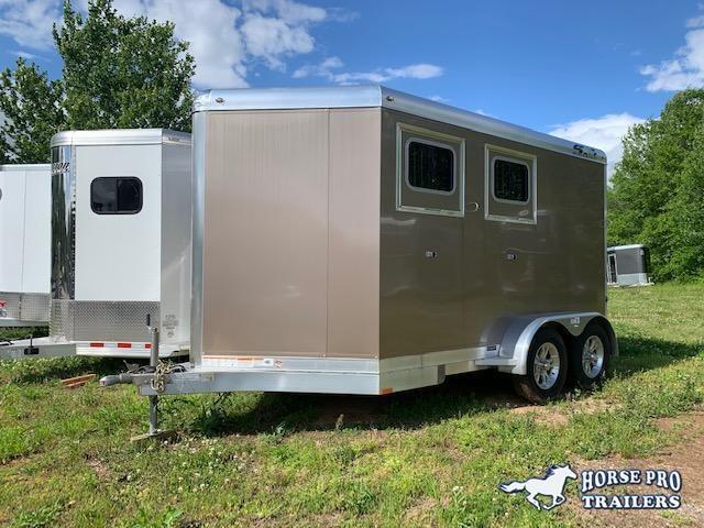 2020 4-Star 2 Horse Slant Load Bumper Pull w/Rear Tack & ROOF INSULATION!