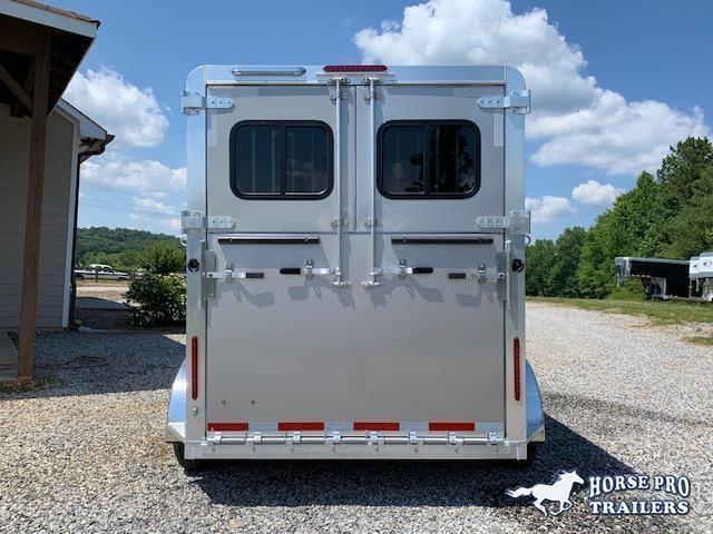 2021 Adam Jubliee 2 Horse Straight Load Bumper Pull- ALL ALUMINUM!