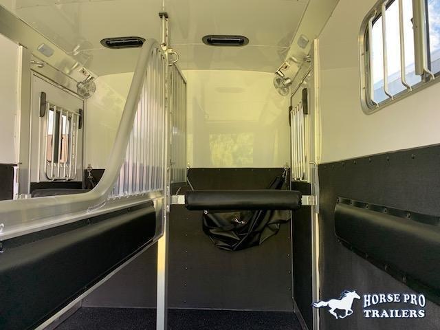 2021 4-Star 2 Horse Straight Load Bumper Pull w/WERM FLOORING!