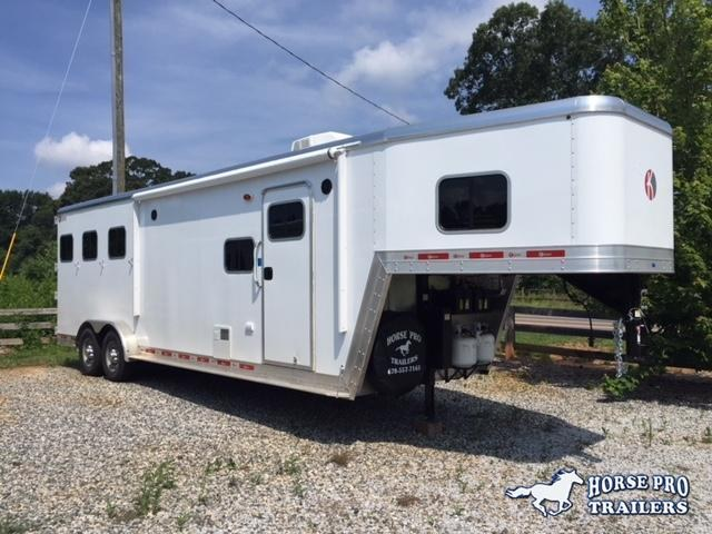 2019 Kiefer Genesis 3 Horse 10'6 LSR Living Quarters