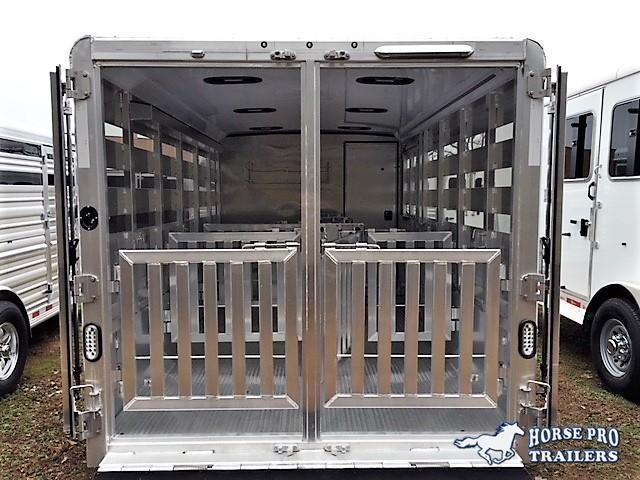 2020 Exiss Exhibitor 16' Low Profile Pig/Stock Bumper Pull
