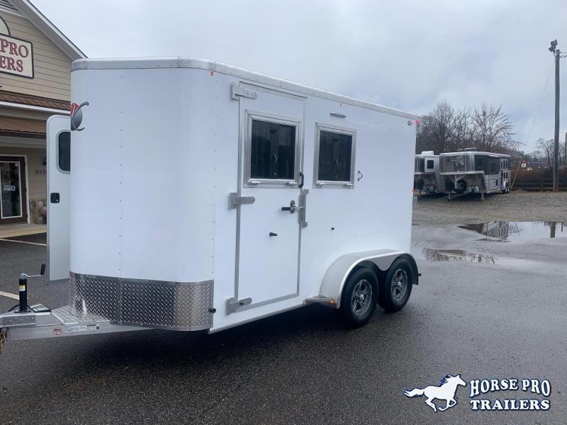 2021 Kiefer 2 Horse Slant Load Bumper Pull w/ ESCAPE DOOR