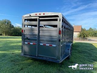 2018 Titan Trailers 24' Stock Gooseneck Horse Trailer