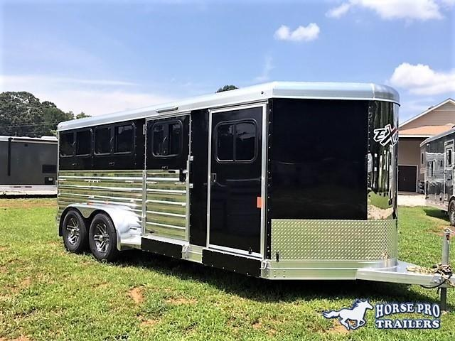 2020 Exiss Exhibitor 16' Low Profile Pig/Stock Bumper Pull w/Windows