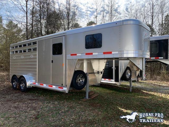 2021 Exiss CXF 3 Horse Slant Load Gooseneck- POLYLAST FLOOR!