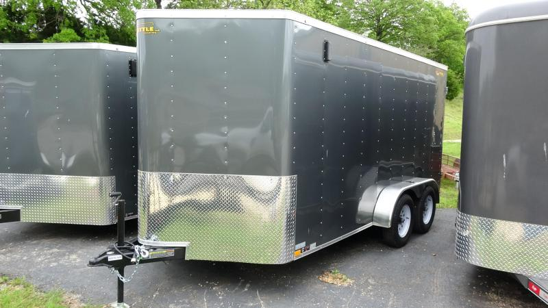 2019 Doolittle Trailer Mfg 2019 16x7 Doolittle Bullet Series Enclosed/Cargo Trailer Gray