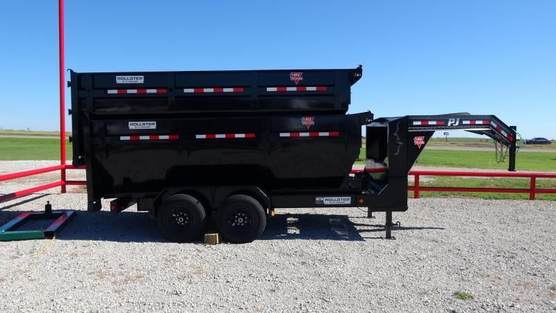 2021 PJ Trailers 14' Rollster Roll Off Dump Trailer