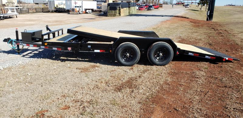 "2021 PJ Trailers 18' x 5"" Channel Tilt Carhauler Trailer"