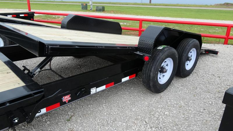 2020 PJ 20' Tilt Trailer HD Equipment (TJ) with Tandem 8k axels (CL)