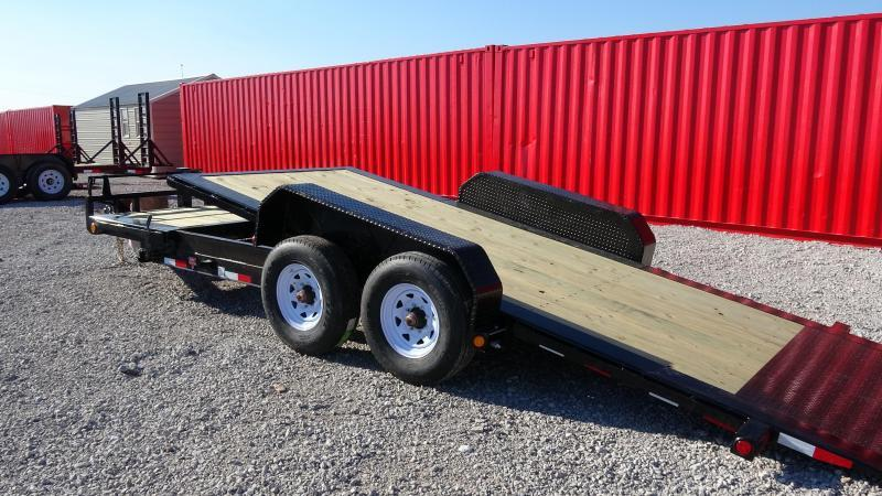 2021 PJ 20' Tilt Trailer HD Equipment (TJ) with Tandem 8k axels (CL)