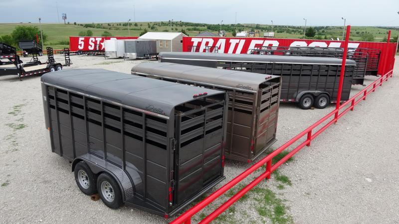 2021 Delta Manufacturing 2021 Delta 500 16 Tandem Axle BP Horse Trailer