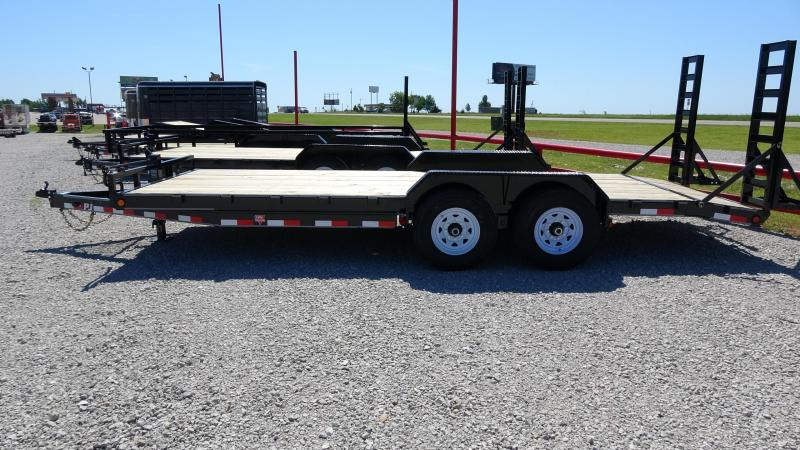 "2021 PJ 83""x20' 14k Equipment/Car Hauler (CC)"