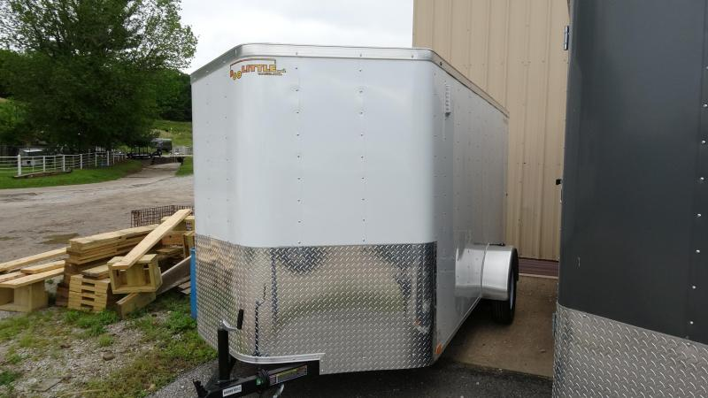 2019 Doolittle Trailer Mfg 2019 12x7 Doolittle Bullet Series Enclosed/Cargo Trailer Single 3500 Axle White