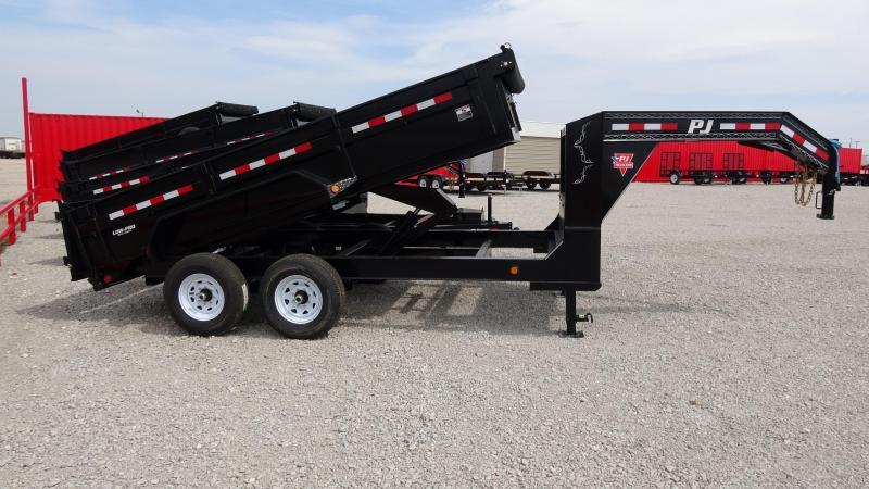 "2020 PJ Trailers 83""x14' Lo-Pro GN  Dump Trailer Includes Tarp Kit"