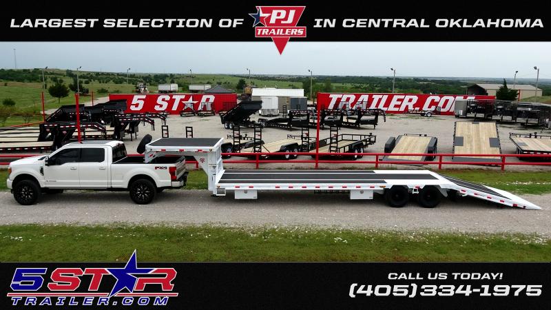 2020 PJ Trailers 22' Deckover Tilt Tandem 7000lb Axles (CL)
