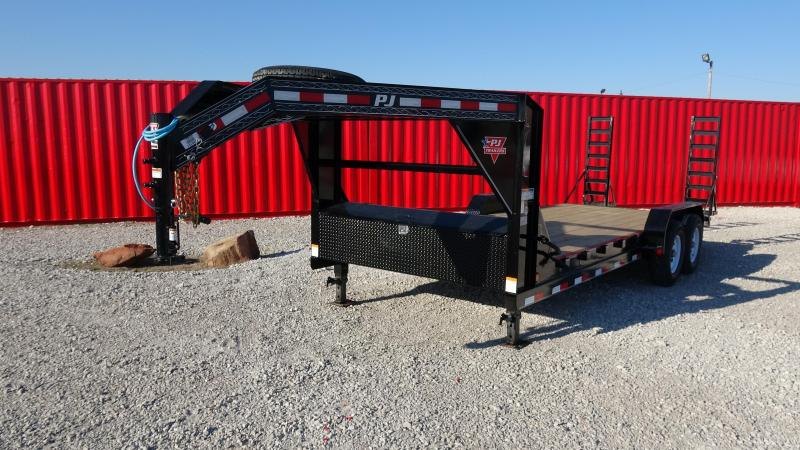 "2021 PJ 83""x20' GN 14k Equipment/Car Hauler (CC)"
