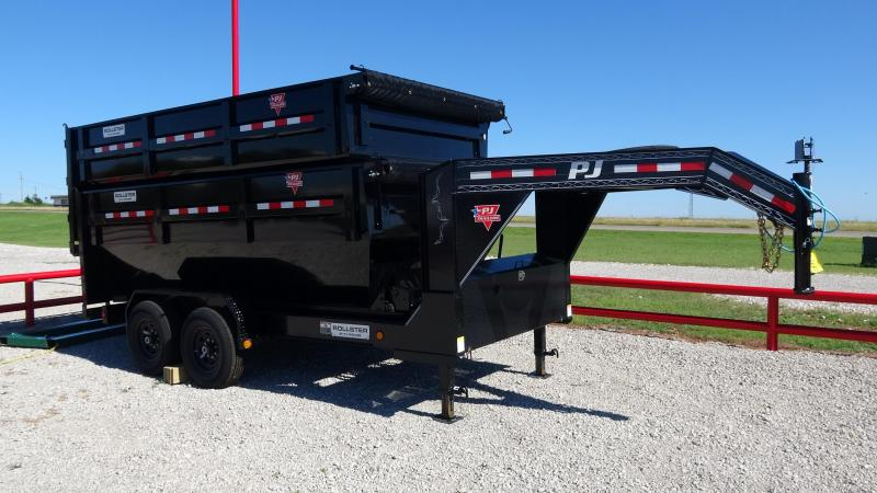 2021 PJ Trailers 14' Rollster Roll Off Dump Trailer (1 Dump Bin Included)
