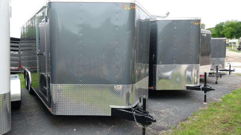 2021 Doolittle Trailer Mfg 2021 20x8.5 Doolittle Bullet Series Enclosed/Cargo Trailer Gray