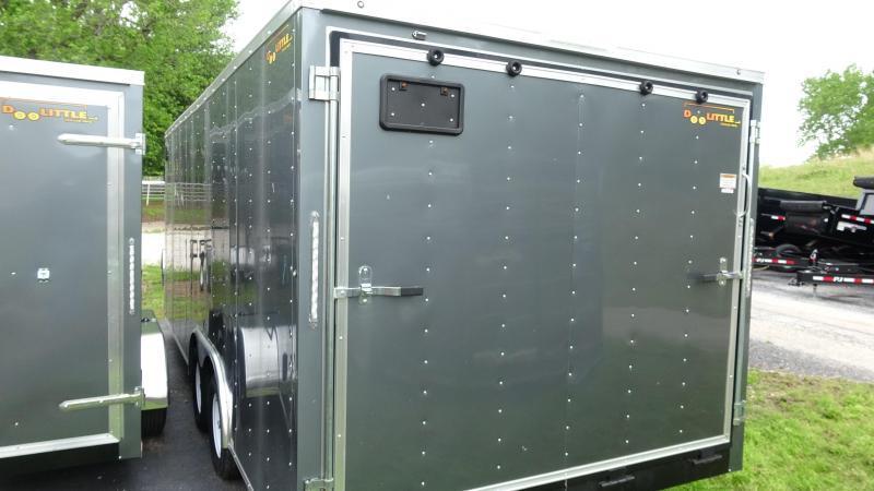 2021 Doolittle Trailer Mfg 2021 20x8.5 Doolittle Bullet Series Enclosed/Cargo Trailer Gray