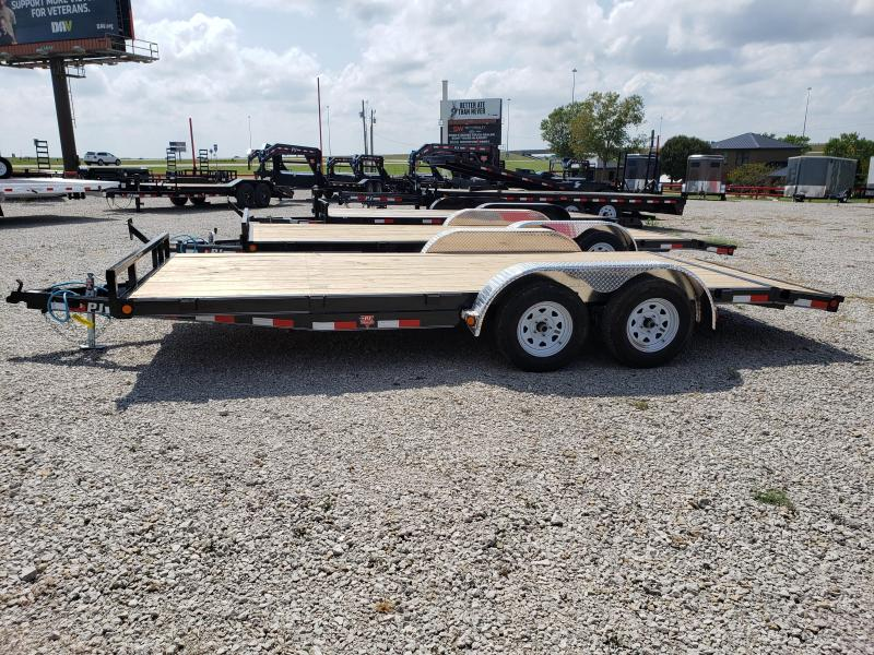 "2020 PJ Trailers 2020 PJ 20''x5"" Channel Carhauler/Equipment Trail Car / Racing Trailer"