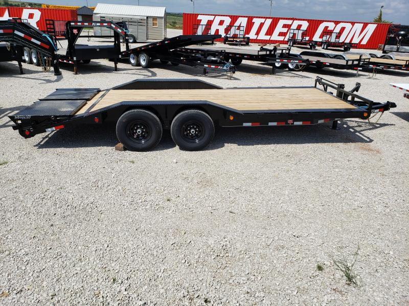 "2021 PJ 20' x 6"" Channel Super-Wide (B6) Equipment Trailer"