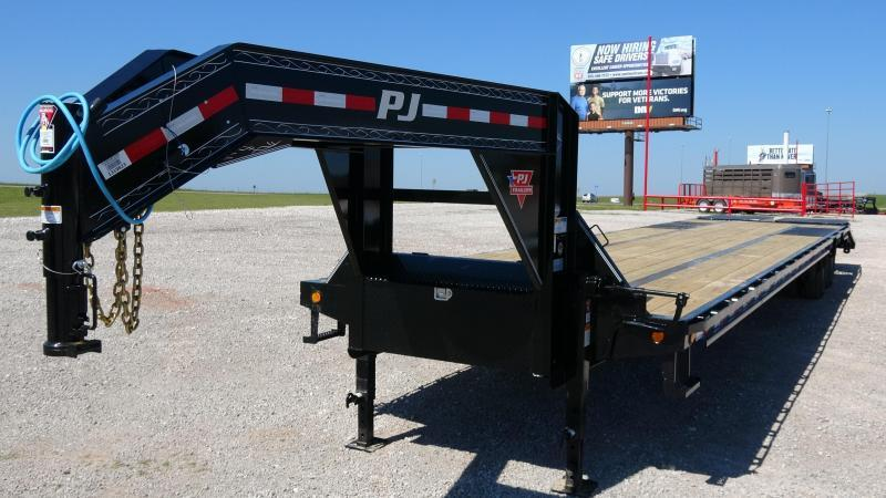 "2021 PJ Trailers 102""x40' Low Pro Flatdeck (LD) Monster Ramps"