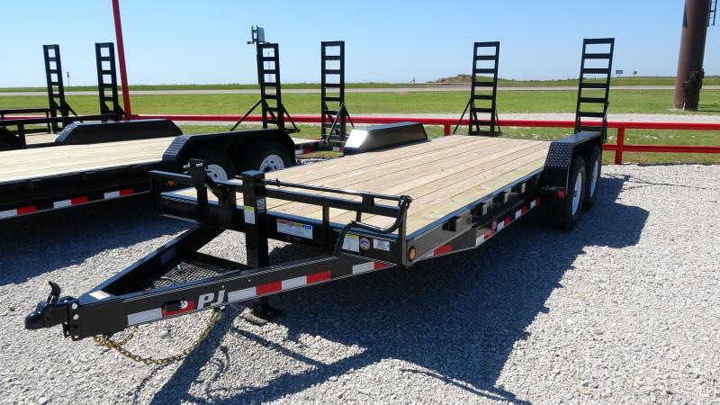 "2021 PJ 83""x20' Bumper Pull or Gooseneck 14k Equipment/Car Hauler (CC) Starting@ $5450"