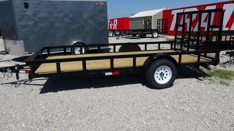 2019 Other 14x76 5STAR Gated Single Axle Utility Trailer Utility Trailer
