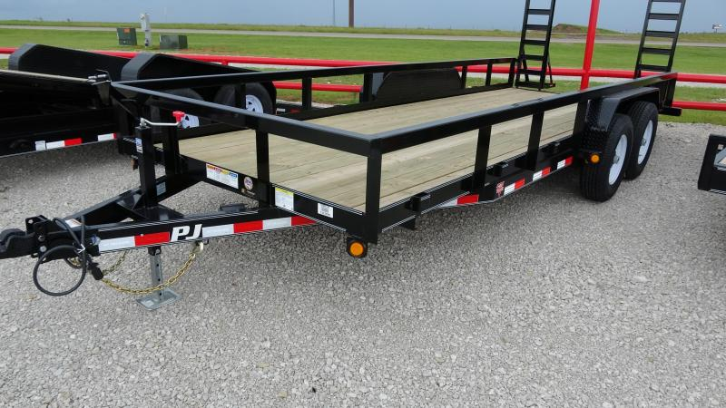 "2021 PJ 83""x20' Angle Pipetop  Trailer (P8) (CL)"