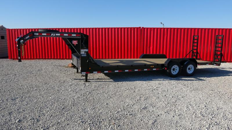 "2021 PJ Trailers 83""x24' GN Equipment/Car Hauler (CC)"