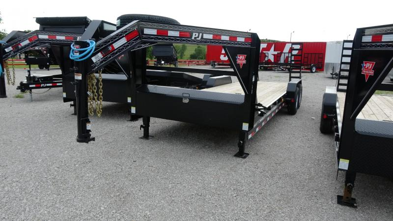 "2020 PJ Trailers 83""x24' GN Equipment/Car Hauler (CC)"