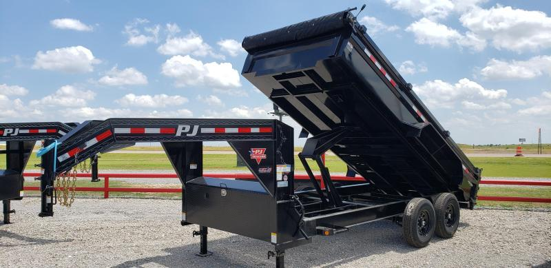 2021 PJ Trailers 16' HD Low-Pro Dump Trailer
