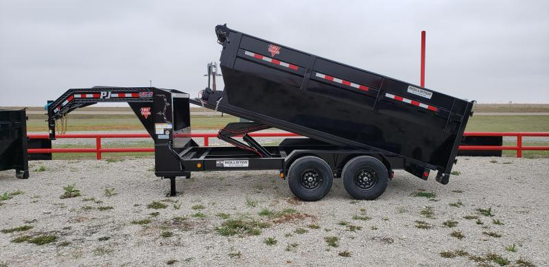 2021 PJ Trailers 14' Rollstera,¢ Roll Off Dump Trailer