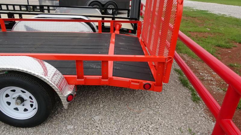 2020 PJ Trailers 2020 PJ 83x16 Tandem Axle Utility w/ATV Ramps Utility Trailer