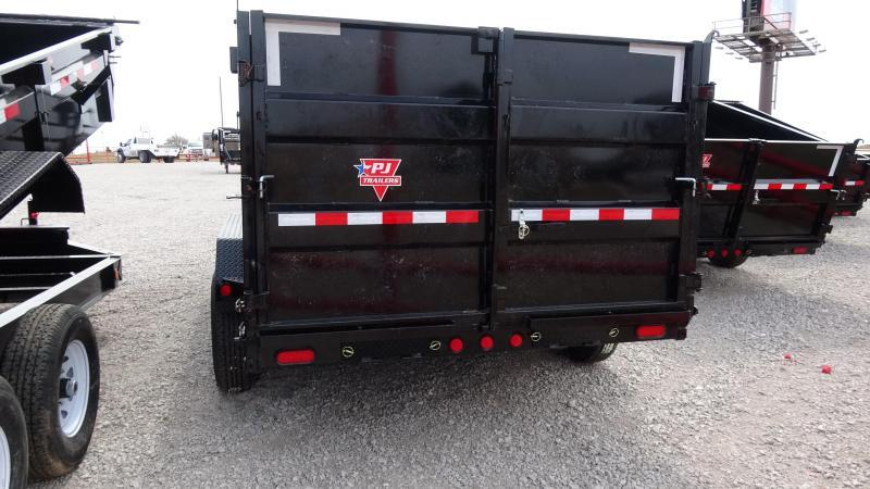 "2020 PJ Trailers 83""x16' Gooseneck High Side Dump/4' Sides Includes Tarp Kit  (CL)"