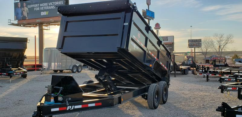 "2020 PJ Trailers 14' x 83"" Low Pro High Side Dump Trailer"