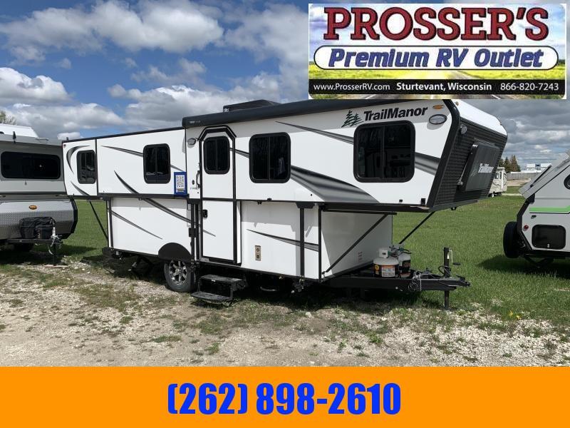2021 TrailManor 2720 Series 2720QB Popup Camper RV