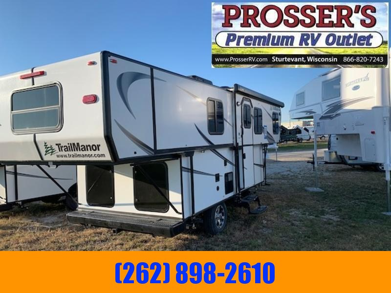 2021 TrailManor 2518 Series 2518KB