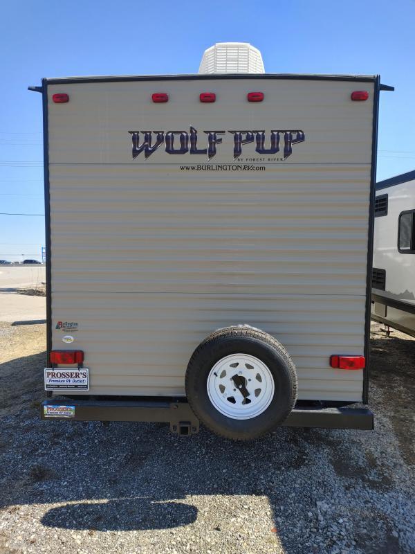 2016 Cherokee Wolf Pup 16FQ Travel Trailer RV