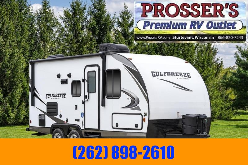 2021 Gulf Stream Gulf Breeze 21QBS Travel Trailer RV