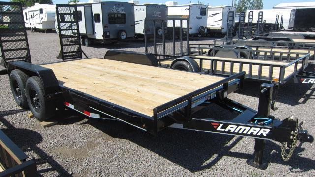 "2021 Lamar Trailers 83""X18' EQUIPMENT Trailer"