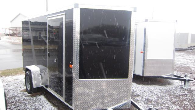 2021 AERO 6X12 V Enclosed Cargo Trailer