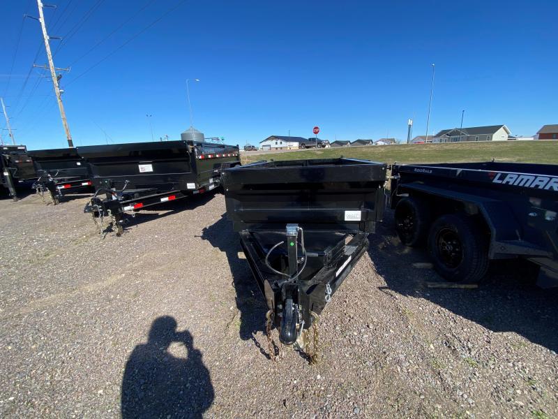 "2021 Iron Bull 60""X10' Dump Trailer"